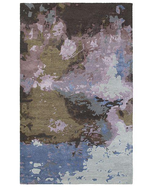 Oriental Weavers Galaxy 21901 Blue/Purple 8' x 10' Area Rug