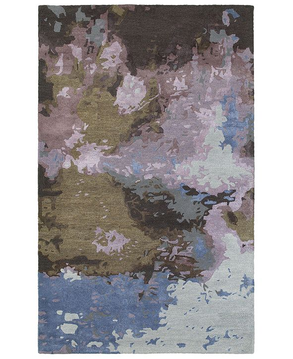 Oriental Weavers Galaxy 21901 Blue/Purple 10' x 13' Area Rug