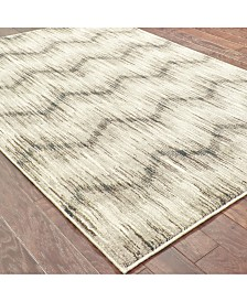 "Oriental Weavers Highlands 6608A Gray/Ivory 2'3"" x 7'6"" Runner Area Rug"