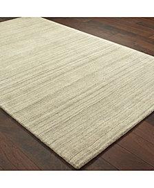 """Oriental Weavers Infused 67001 Beige/Beige 2'6"""" x 8' Runner Area Rug"""