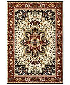 "Oriental Weavers Kashan 96W Red/Ivory 6'7"" x 9'6"" Area Rug"