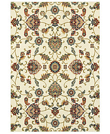 "Oriental Weavers Kashan 9946W Ivory/Multi 6'7"" x 9'6"" Area Rug"