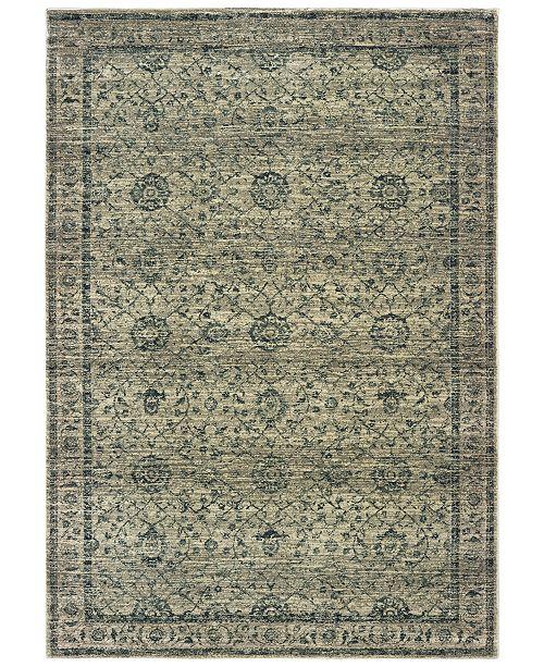 "Oriental Weavers Mantra 501L Gray/Blue 9'10"" x 12'10"" Area Rug"