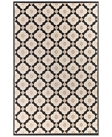 """Riviera 7635 Modern Tile 1'11"""" x 7'6"""" Indoor/Outdoor Runner Area Rug"""