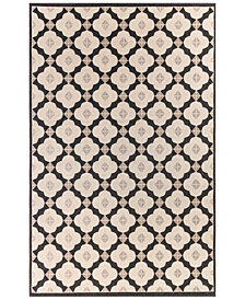 "Liora Manne' Riviera 7635 Modern Tile 1'11"" x 7'6"" Indoor/Outdoor Runner Area Rug"