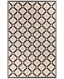 "Liora Manne' Riviera 7635 Modern Tile 1'11"" x 7'6"" Indoor/Outdoor Runner Area Rug"