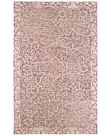 Tallavera 55601 Pink/Ivory 8' x 10' Area Rug