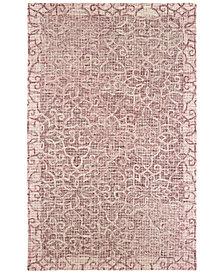 "Oriental Weavers Tallavera 55601 Pink/Ivory 2'6"" x 8' Runner Area Rug"
