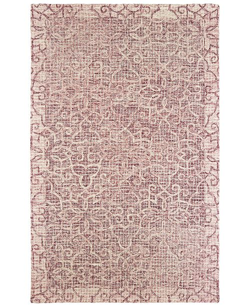 Oriental Weavers Tallavera 55601 Pink/Ivory 10' x 13' Area Rug