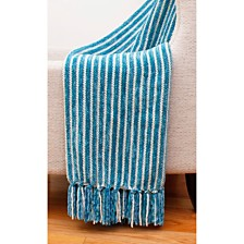 "Caiden Chenille Fringe Decorative Throw, 50"" x 60"""