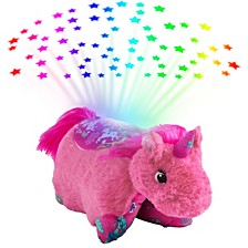 Pillow Pets Colorful Unicorn Plush Sleeptime Lite