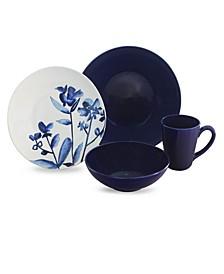 Lapis Fields 16 Piece Dinnerware Set