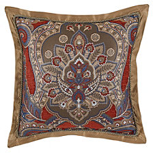 "Croscill Margaux Square Decorative Pillow 18"" x 18"""