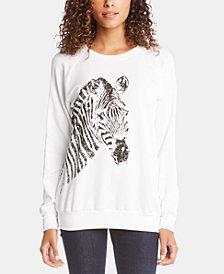 Karen Kane Zebra-Graphic Sweatshirt