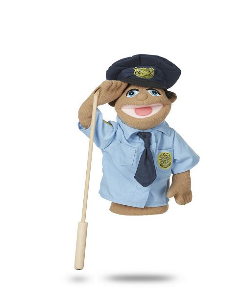 Melissa And Doug Melissa Doug Police Officer Puppet With