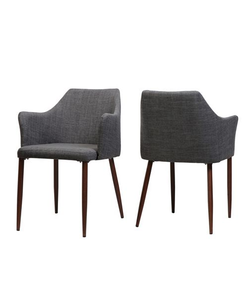 Noble House Nadya Dining Chairs (Set Of 2), Quick Ship