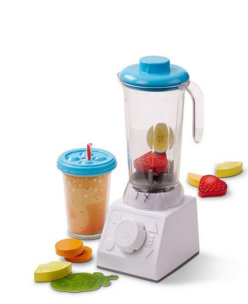 Melissa Doug Smoothie Maker Blender Set With Play Food 24 Pcs