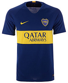 Nike Men's Boca Juniors Club Team Home Stadium Jersey