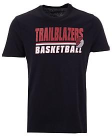 '47 Brand Men's Portland Trail Blazers Fade Back Super Rival T-Shirt