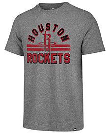'47 Brand Men's Houston Rockets Team Stripe Match T-Shirt