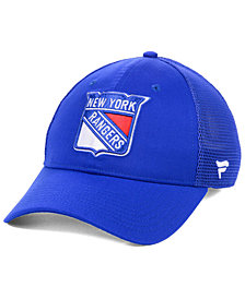 Fanatics New York Rangers Elevated Core Trucker Snapback Cap