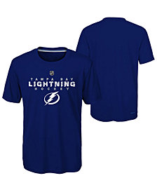 Outerstuff Tampa Bay Lightning Avalanche T-Shirt, Big Boys (8-20)