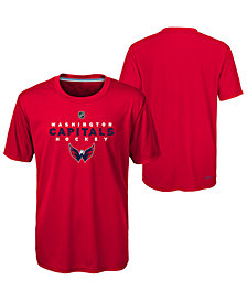 Outerstuff Washington Capitals Avalanche T-Shirt, Big Boys (8-20)