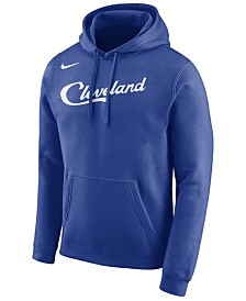 Nike Men's Cleveland Cavaliers City Club Fleece Hoodie