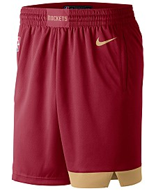 e7ebb977610 Nike Men s Houston Rockets City Swingman Shorts