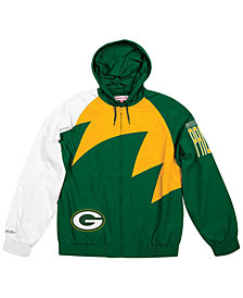 Mitchell & Ness Men's Green Bay Packers Shark Tooth Jacket