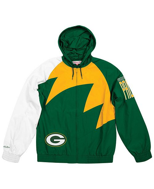 best website d04de 9a749 Men's Green Bay Packers Shark Tooth Jacket