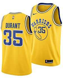 Nike Men's Kevin Durant Golden State Warriors Hardwood Classic Swingman Jersey