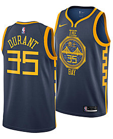 Nike Kevin Durant Golden State Warriors City Edition Swingman Jersey 2018, Big Boys (8-20)