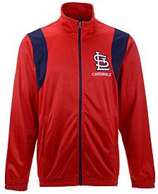 G-III Sports Men's St. Louis Cardinals Clutch Track Jacket