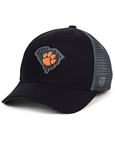 Top of the World Clemson Tigers Back the School Flag Trucker Cap