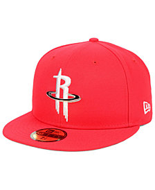 New Era Houston Rockets Metal Mash Up 59FIFTY-FITTED Cap