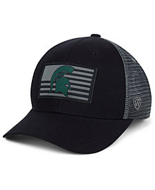 Top of the World Michigan State Spartans Back the School Flag Trucker Cap