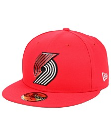 New Era Portland Trail Blazers Metal Mash Up 59FIFTY-FITTED Cap