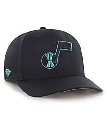 '47 Brand Utah Jazz Diamond Blue MVP DP Cap