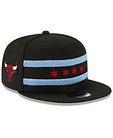 New Era Boys' Chicago Bulls City Series 2.0 9FIFTY Snapback Cap