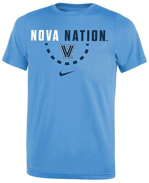 03fecd93 Nike Villanova Wildcats Basketball Legend Logo T-Shirt 2018, Big Boys (8-