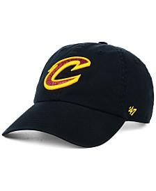 '47 Brand Women's Cleveland Cavaliers Glitta CLEAN UP Strapback Cap