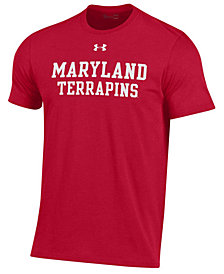 Under Armour Men's Maryland Terrapins Performance Cotton T-Shirt