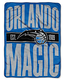 Northwest Company Orlando Magic Micro Raschel Clear Out Throw Blanket