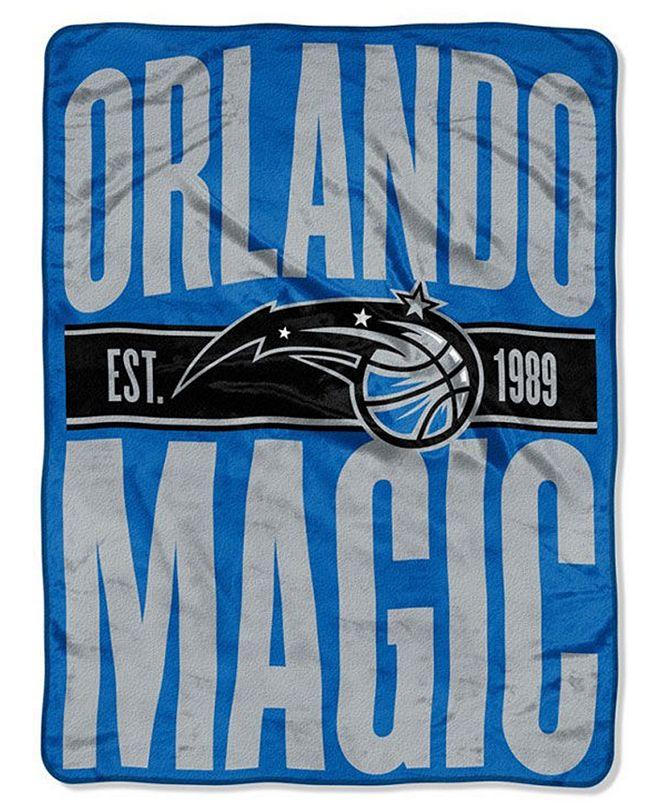 Northwest Company Orlando Magic Micro Raschel Clear Out Throw Blanket