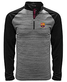 Level Wear Men's FC Barcelona Club Team Vandal Quarter-Zip Pullover
