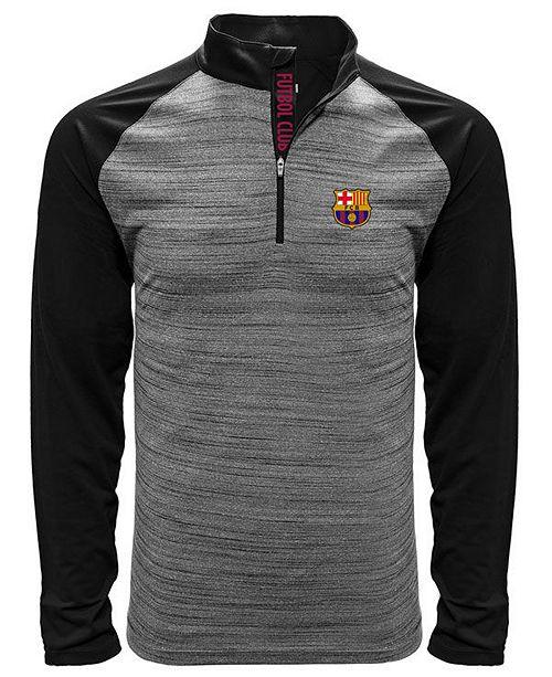 6bfba84e601 LevelWear Level Wear Men s FC Barcelona Club Team Vandal Quarter-Zip  Pullover