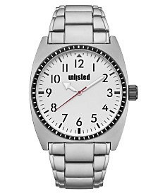 Unlisted Men's Silvertone Alloy Sport Watch, 46MM