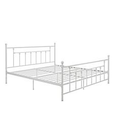 Maisie King Metal Bed