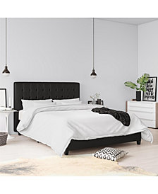 EveryRoom Elvia Full Upholstered Bed